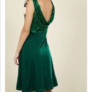 ModCloth green dress size XL
